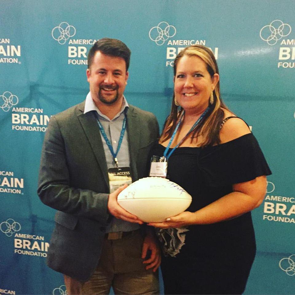 American Brain Foundation, TBI awareness, Ben Utecht, RBC Wealth Management, Minneapolis, Life With a TBI