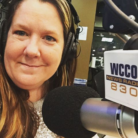 Amy Zellmer on WCCO news radio talking about Brain Injury Awareness Month