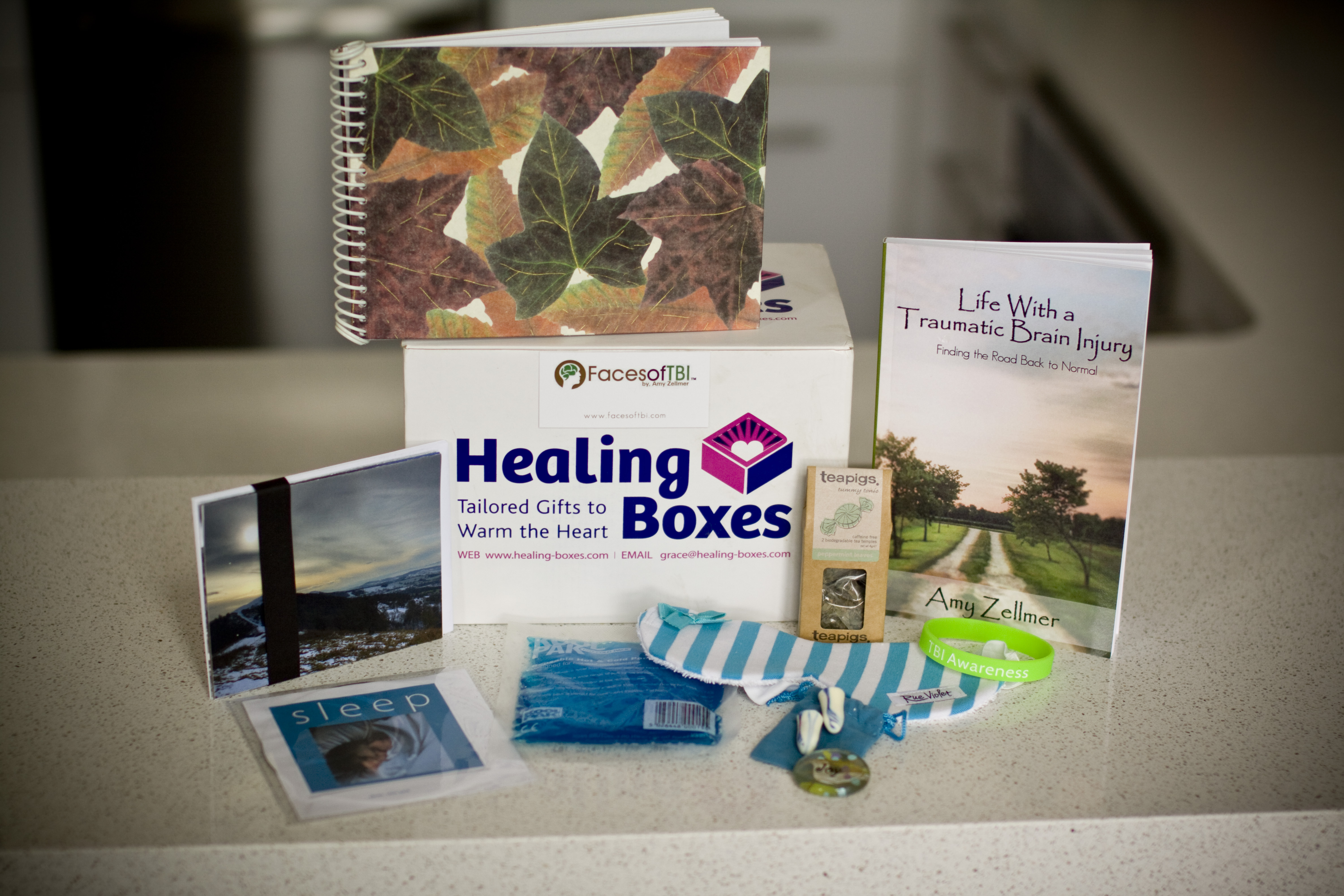 Healing Boxes, traumatic brain incj